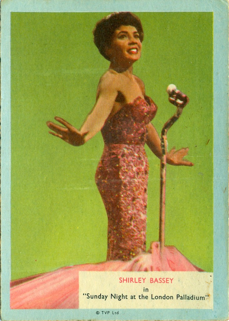 who-z-at star Shirley Bassey